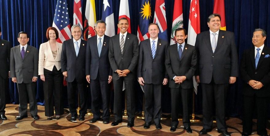 Транстихоокеанское партнерство